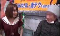 童顔美女、麻里梨夏のテクで射精しなければ中出し権が獲得できる勝負で…