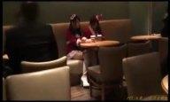 Xmasにサンタコスの美女二人と3Pハメ撮りパコ→ザーメン大量顔射