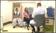 産婦人科に来た黒ギャルお姉さんが鬼畜医師の罠にかかりガチハメ展開