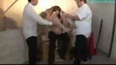 h3スク水巨乳女子校生を体育倉庫で集団レイプ/h3