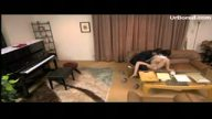 ピアノ講師に脅迫され中出しレイプされるお嬢様系女子大生がエロすぎ(3-2中編)