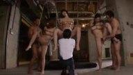 夫の借金のせいで監禁され緊縛拘束レイプされる巨乳人妻たち