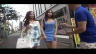 街中ナンパした素人二人と即日乱交4Pハメ撮り!